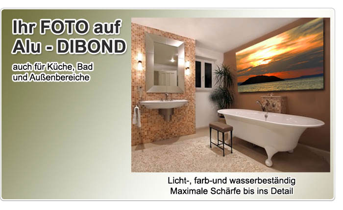 laminiert auf alu dibond g nstig online kaufen. Black Bedroom Furniture Sets. Home Design Ideas